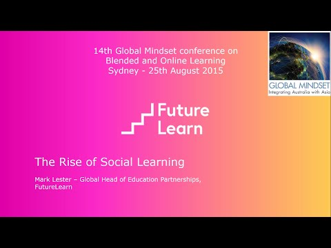 Global Mindset conference on Blended & Online Learning - Mark Lester video