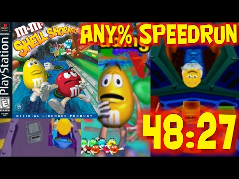 M&M's Shell Shocked Any% Speed Run in 48:27