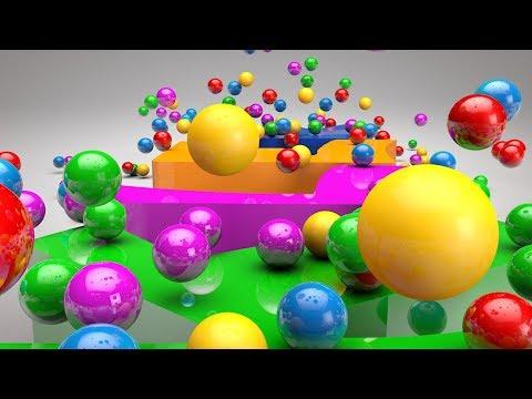 Renkli Toplarla İngilizce Renkleri Öğrenelim