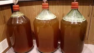 Детальна інструкція по приготуванню вина і самогону з яблук ч. 5