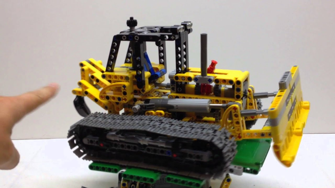 lego technic 42006 bulldozer c model youtube. Black Bedroom Furniture Sets. Home Design Ideas