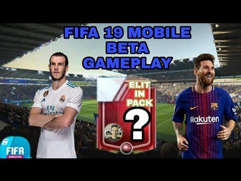 FIFA MOBILE 19 BETA GAMEPLAY!!
