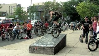 The Come Up BMX x ODI Chicago Street Jam 2013.