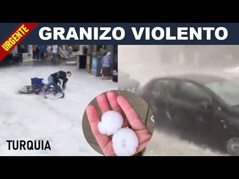 Tempestade de Granizo Castiga Istambul - Veja 30 Videos Impressionantes 2020