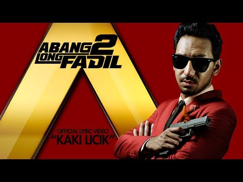 Zizan Razak - KAKI LICIK [Official Lyric Video HD] (OST ABANG LONG FADIL 2)