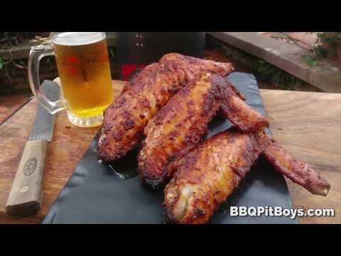 Easy to Grill Smoked Turkey Wings