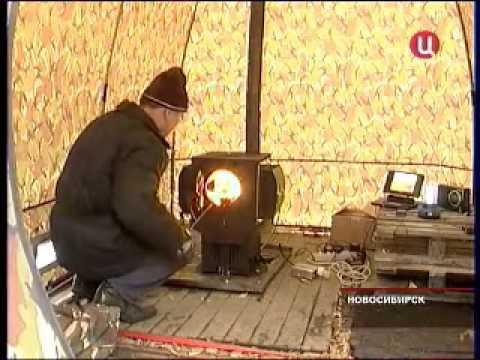 Электростанция на дровах