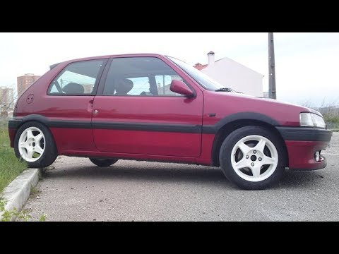 peugeot 106 xsi mk1 acceleration youtube. Black Bedroom Furniture Sets. Home Design Ideas