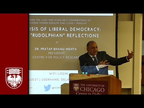 """Crisis of Liberal Democracy: Some """"Rudolphian"""" Reflections"""