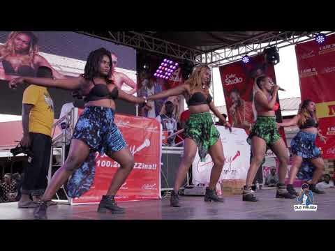 Cindy Sanyu NDI MUKODO Live performance - Galaxy FM Zzina Sosh 2017