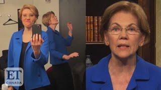 Elizabeth Warren Dances At 'SNL'