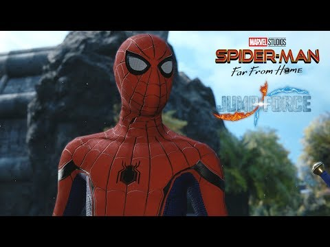 Jump Force - Spider-Man (Homecoming Suit) Playable Character Gameplay (MODS)