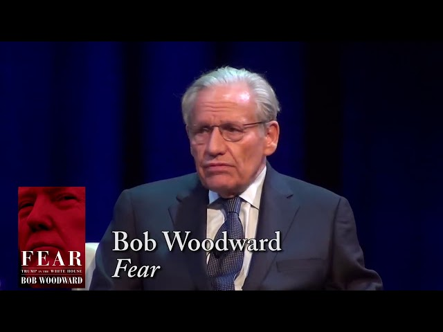 BOB WOODWARD: On FBI Investigations