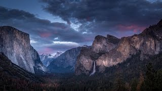 Yosemite Valley Drive Through