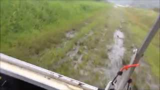 golf cart mudding