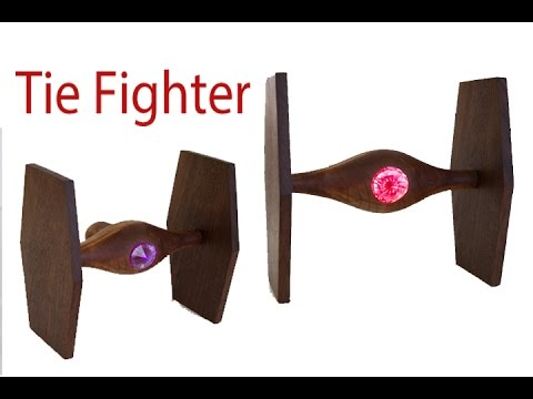 Woodturning Star Wars Tie Fighter | Carl Jacobson