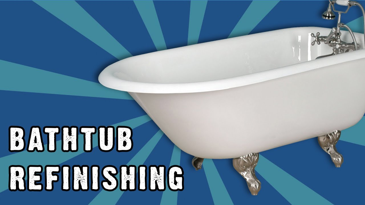 Bathtub Refinishing Manchester NH - Miracle Method - YouTube