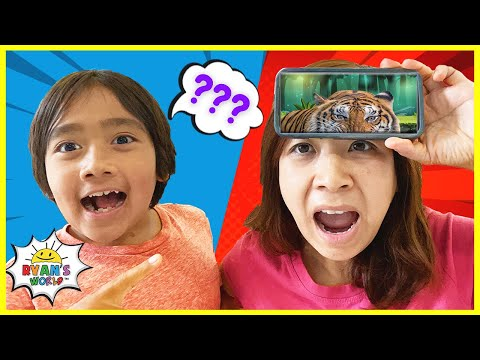 Heads Up Challenge Guessing Game with Ryan