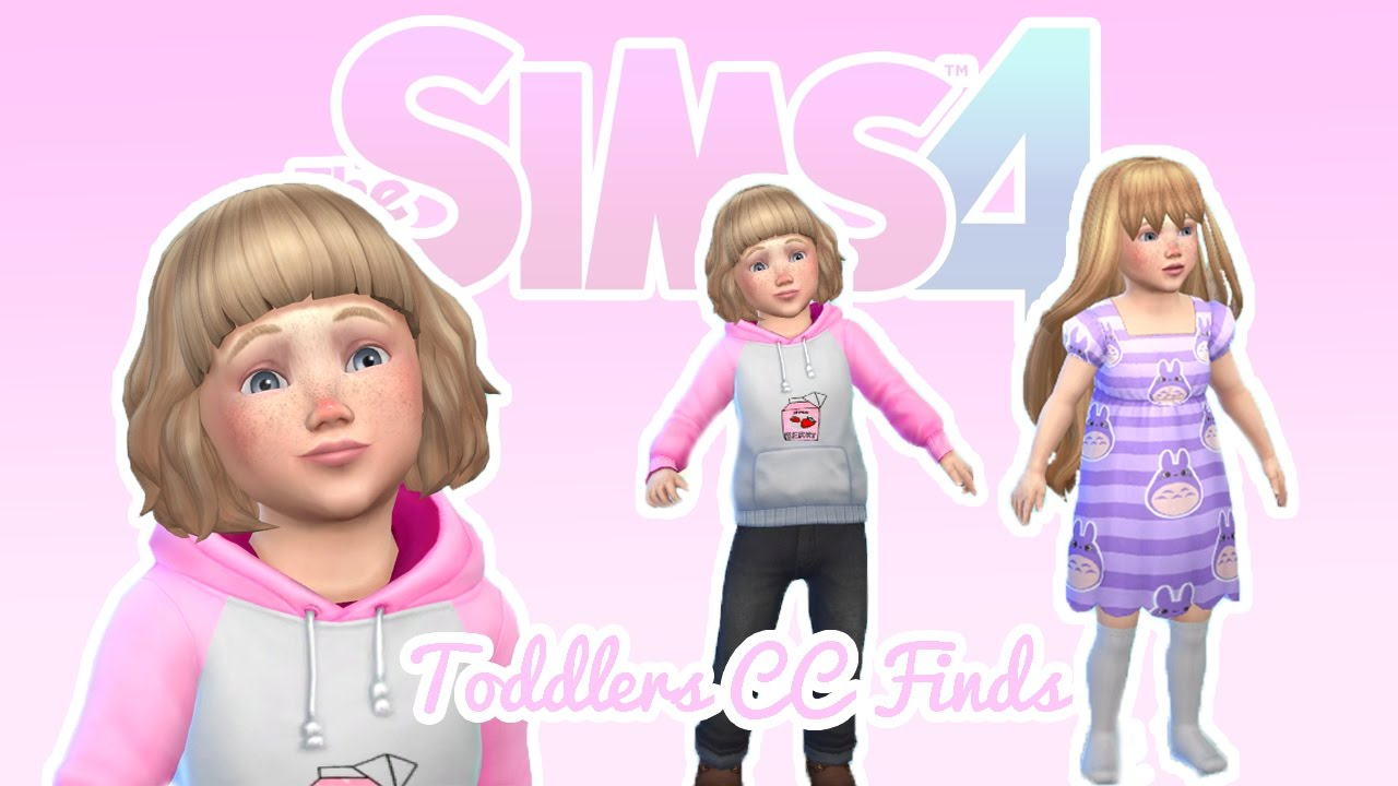 The Sims 4 Cc Finds For Toddlers Youtube