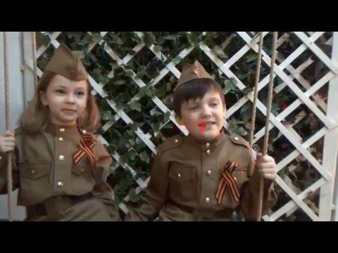 Бэкстейдж съемки военной формы для детей