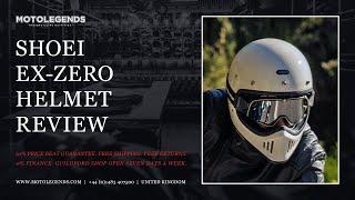 Shoei ExZero helmet review