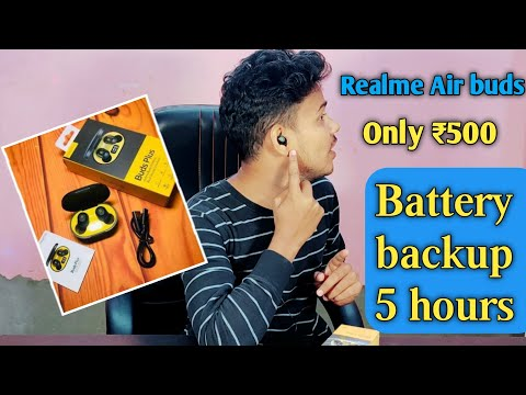 realme Buds plus Unboxing & First Impressions ⚡⚡⚡ Best air buds Under ₹500 ??