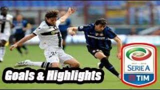 Internazionale vs Parma - Goals & Highlights Calcio Série A