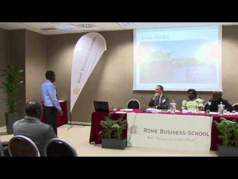 Rome Busines School - Italia-Africa Business Forum 2015 - Lazar Kujabi
