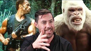 Why 'Rampage' Director Brad Peyton Watched Predator 365 Times | Heat Vision | THR