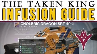 Destiny How to Infuse a weapon / armor? The Taken King How to Infuse Guide