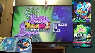 DragonBall Super BROLY unboxing