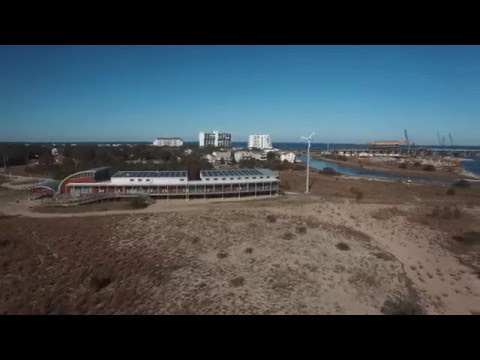 Lynnhaven Inlet  Brock Environmental Center  Pleasure House Point  DJI Phantom 3 Professional
