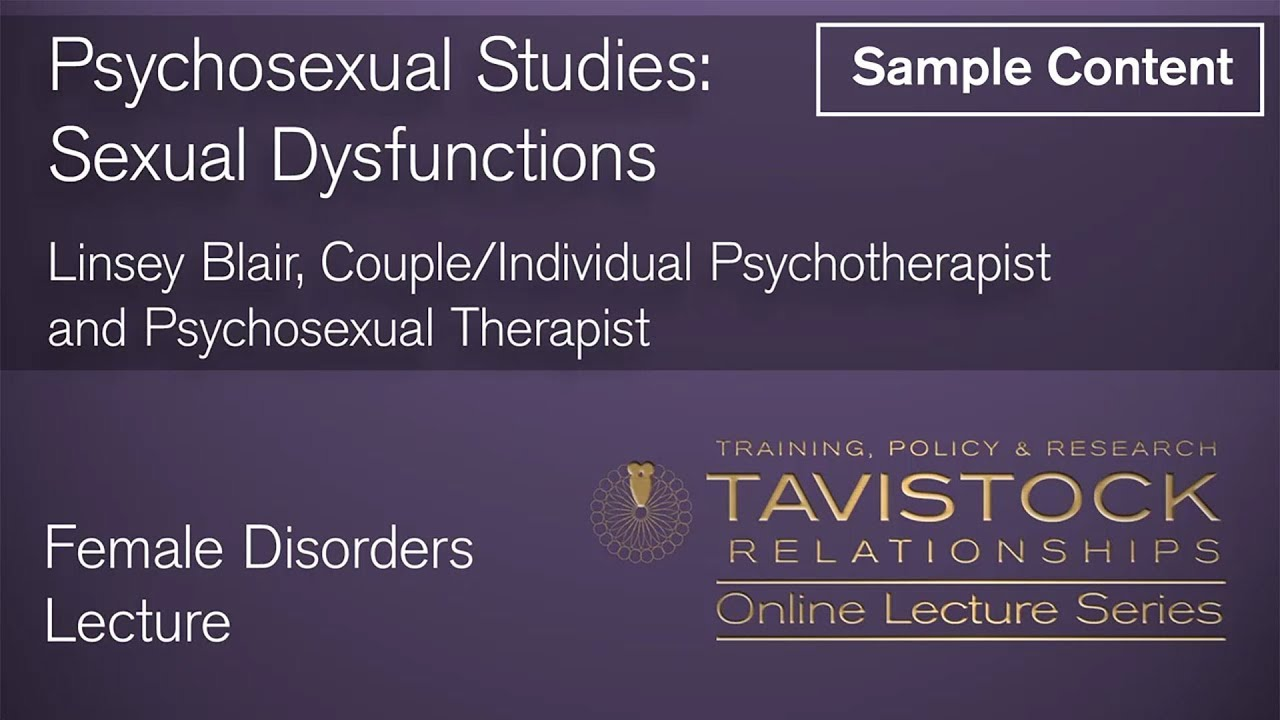 Psychsexual dysfunction