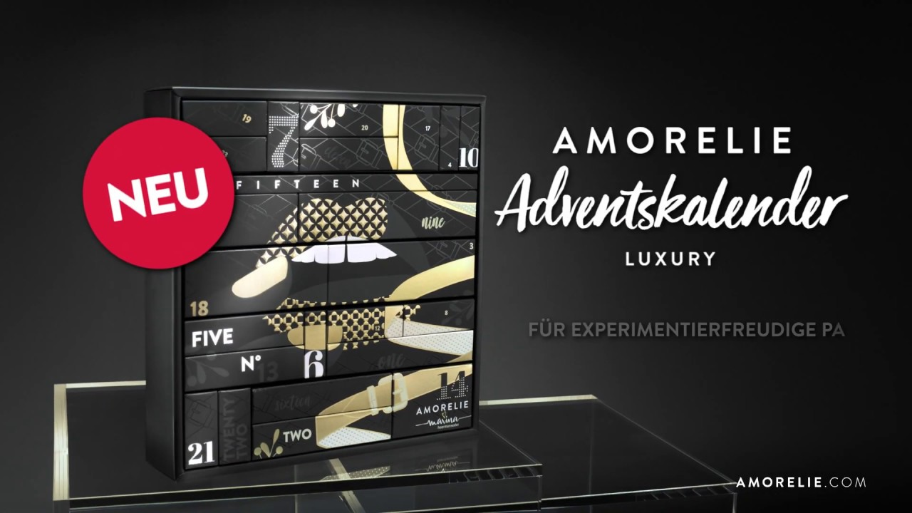 Amorelie adventskalender luxury