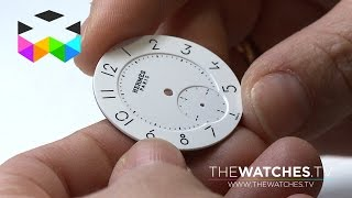 Traditional Enamel Dial Manufacturing