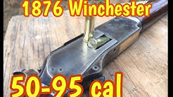 1876 Winchester 50-95 Express, Cimarron copy, the 76 was first big bore lever action rifle