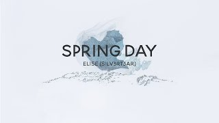 acoustic english cover bts spring day 봄날   elise silv3rt3ar