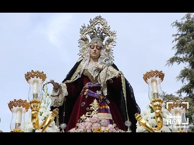 VÍDEO: Nuestro reportaje sobre la Procesión Extraordinaria de la Virgen de la Pasión