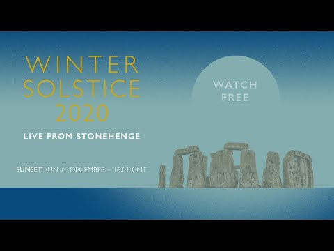 Sunset | Winter Solstice 2020 LIVE from Stonehenge
