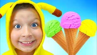 La canción de los helados   Canciones infantiles con Max
