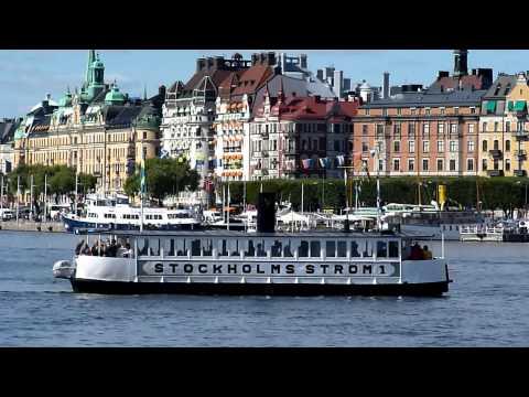 Mini footage - Life in Stockholm harbour (Stockholm, Sweden)