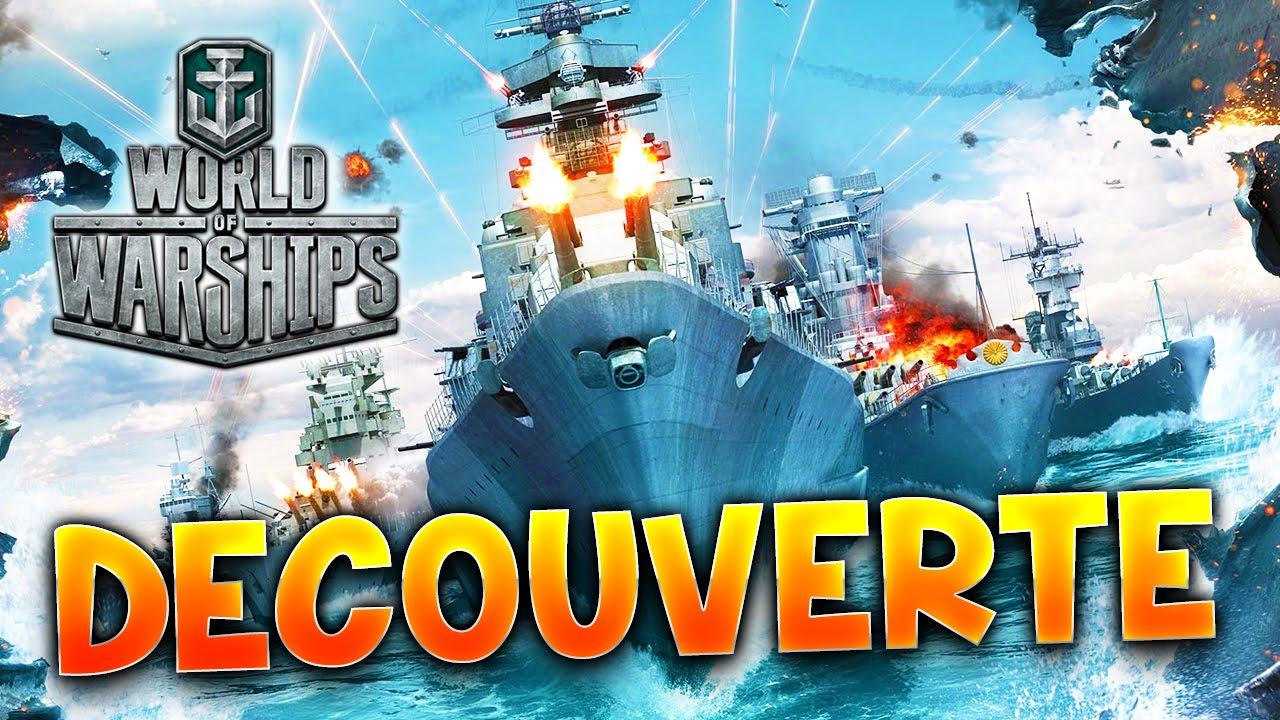 WORLD OF WARSHIPS - DECOUVERTE avec Fanta PC HD FR
