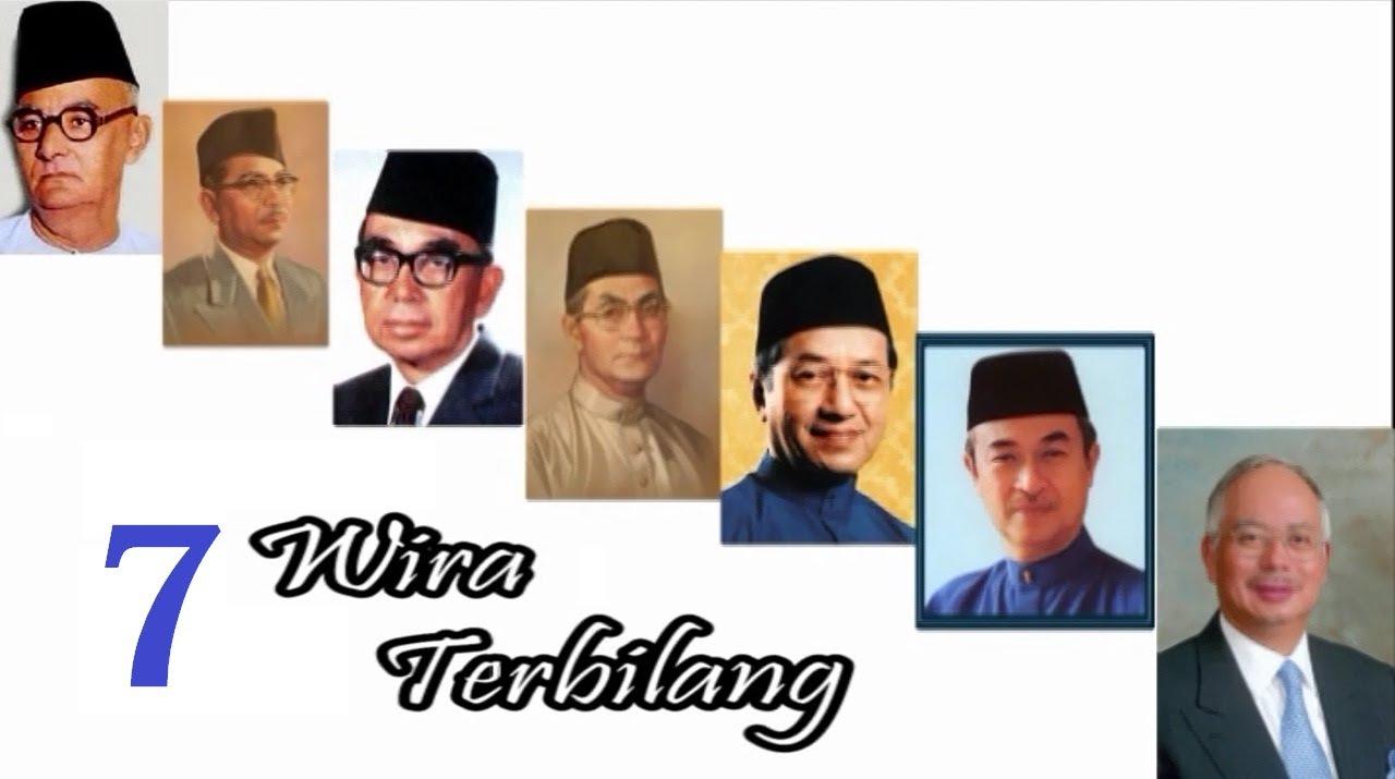 Tujuh Wira Terbilang Negara Sempena Ulang Tahun Ke 86 Pemenang Sambutan 56 Tahun Kemerdekaan Persatuan Melayu Pulau Pinang Pemenang