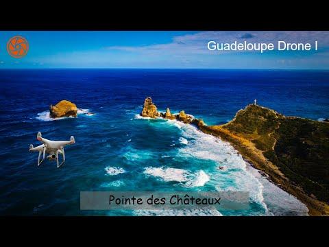 HD Drone Video | Pointe des Châteaux, Guadeloupe