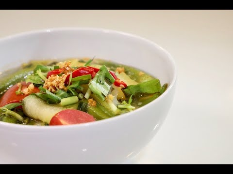 1 Of My Favorite Cambodian Soups:  Sweet And Sour Catfish Soup (Somlaw Machu Youn)