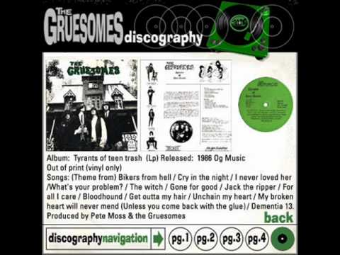 The Gruesomes - Cry In The Night