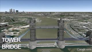 http://bit.ly/1hKmbVg - London Tower Bridge Exhibition - Google Earth