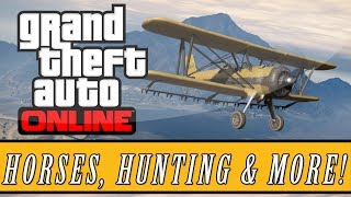 GTA 5: ONLINE | Future DLC Audio Files LEAKED - Animal Hunting, Horses, Heists, Pets & More!