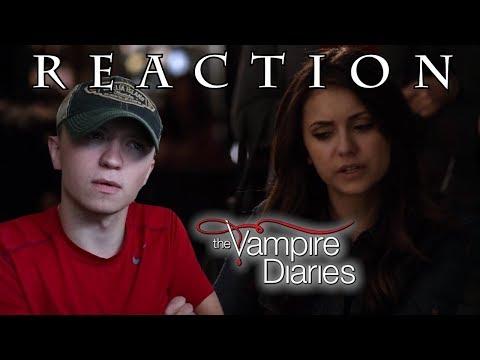 The Vampire Diaries S5E17 'Rescue Me' REACTION