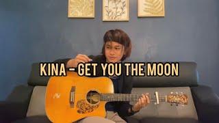 Kina - Get You The Moon (ft snow) guitar cover by Anwar Amzah
